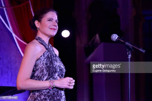 Ana Maria Martínez performs at the Third Annual Berggruen Prize Gala at the New York Public Library on December 10 2018 in New York City