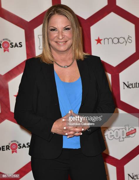 Ana Maria Polo attends People En Espanol's 25 Most Powerful Women Luncheon 2017 at Hyatt Regency on March 24 2017 in Coral Gables Florida