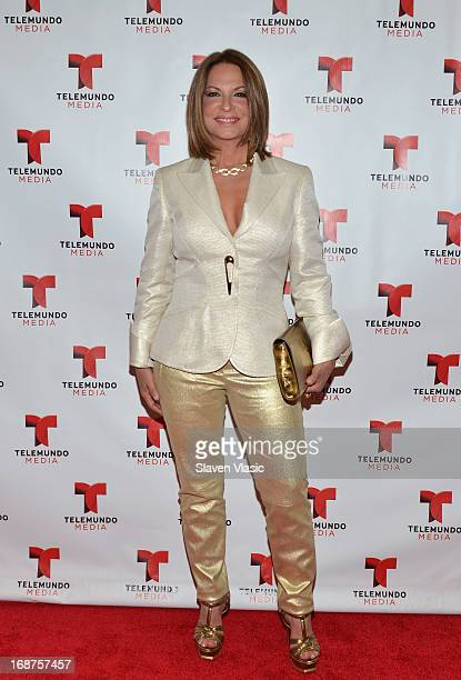 Ana Maria Polo attends the 2013 Telemundo Upfront at Frederick P Rose Hall Jazz at Lincoln Center on May 14 2013 in New York City