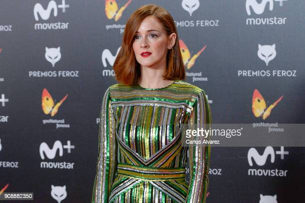 Ana Maria Polvorosa attends Feroz Awards 2018 at Magarinos Complex on January 22 2018 in Madrid Spain