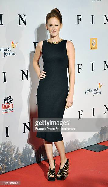 Ana Maria Polvorosa attends 'Fin' premiere on November 20 2012 in Madrid Spain