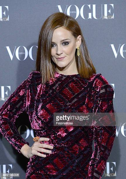 Ana Maria Polvorosa attends the 2014 Vogue Joyas Awards ceremony at the Stock Exchange building on November 18 2014 in Madrid Spain