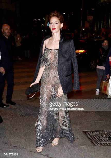 Ana Maria Polvorosa attends the 2018 GQ Men of the Year awards on November 22 2018 in Madrid Spain