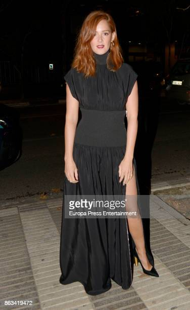 Ana Maria Polvorosa attends the Cosmpolitan Awards #COSMOAWARDS at Graf club on October 19 2017 in Madrid Spain