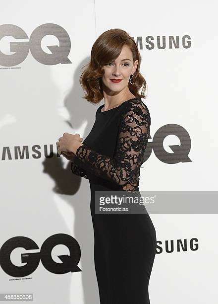 Ana Maria Polvorosa attends the GQ 2014 Men of the Year Awards ceremony at the Palace Hotel on November 3 2014 in Madrid Spain