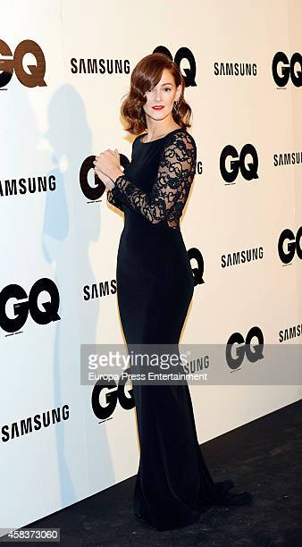 Ana Maria Polvorosa attends the 'GQ Men Of The Year awards 2014' at Palace hotel on November 3 2014 in Madrid Spain