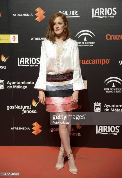 Ana Maria Polvorosa attends the Malaga Film Festival presentation cocktail at the Circulo de Bellas Artes on March 2 2017 in Madrid Spain