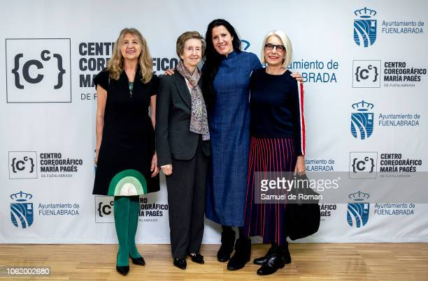 Ana Maria Ruiz Cable Lola Asentado Margarita Salas Maria Pages and attend Maria Pages' Choreographic Center Presentation in Madrid on November 15...