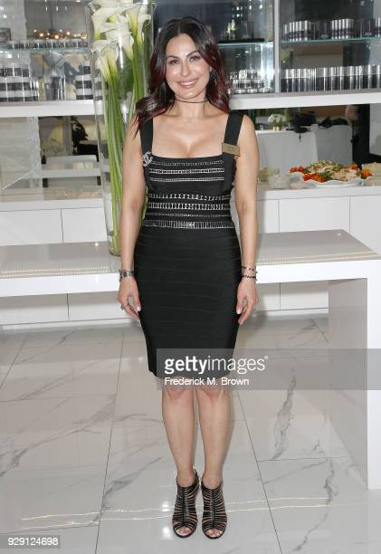 Ana Martin arrives for Dr Paul Nassif unveils his new medical spa with grand opening and ribbon cutting ceremony on March 7 2018 in Beverly Hills...