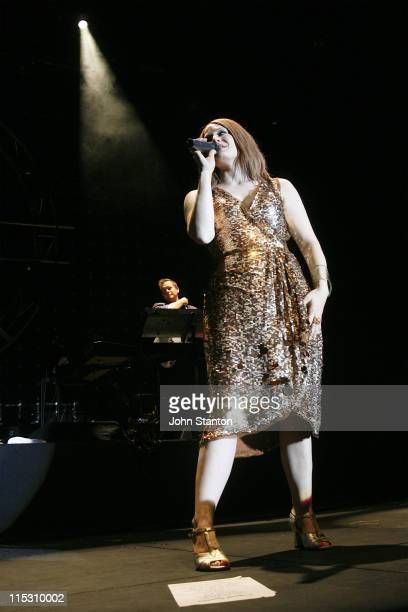 Ana Matronic of Scissor Sisters during Scissor Sisters in Concert at Big Top in Sydney July 26 2006 at Big Top Luna Park in Sydney NSW Australia