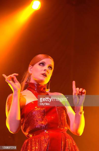 Ana Matronic of Scissor Sisters during Scissor Sisters in Concert at the Lisbon Coliseum April 27 2007 at Lisbon Coliseum in Lisbon Portugal