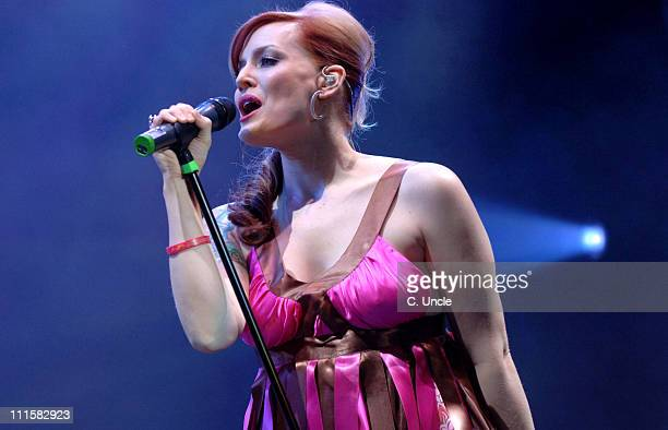Ana Matronic of Scissor Sisters during V Festival 2005 Weston Park Day One at Weston Park in Lichfield Staffordshire Great Britain