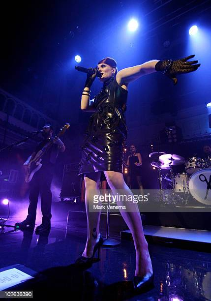 Ana Matronic of Scissor Sisters performs live at Paradiso on July 5 2010 in Amsterdam Netherlands