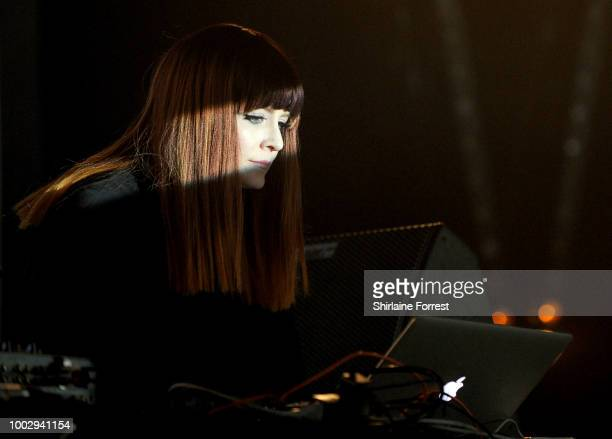 Ana Matronic performs at Blue Dot Festival at Jodrell Bank on July 20 2018 in Manchester England