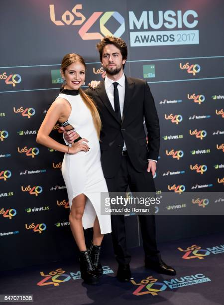 Ana Mena attends 40 Principales Awards candidates dinner 2017 on September 14 2017 in Madrid Spain