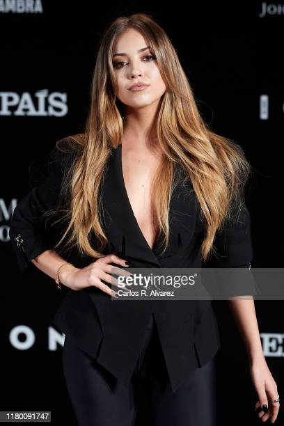 Ana Mena attends 'ICON' magazine awards at Real Fabrica de Tapices on October 09 2019 in Madrid Spain