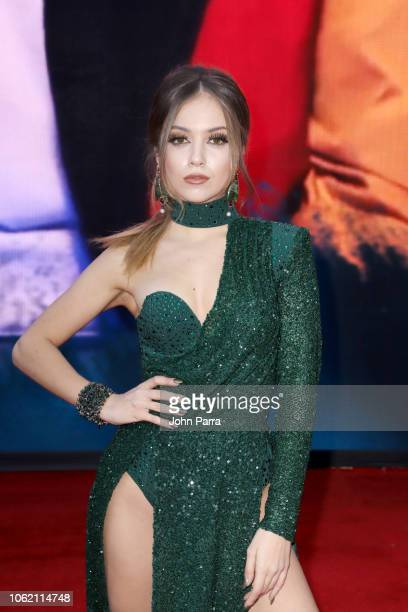 Ana Mena attends the 19th annual Latin GRAMMY Awards at MGM Grand Garden Arena on November 15, 2018 in Las Vegas, Nevada.