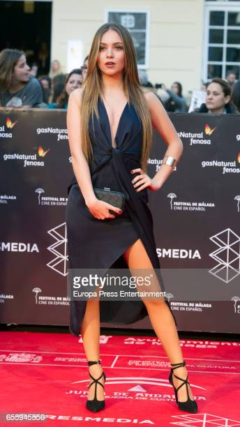 Ana Mena attends the 20th Malaga Film Festival 2017 opening ceremony at the Cervantes Theater on March 17 2017 in Malaga Spain