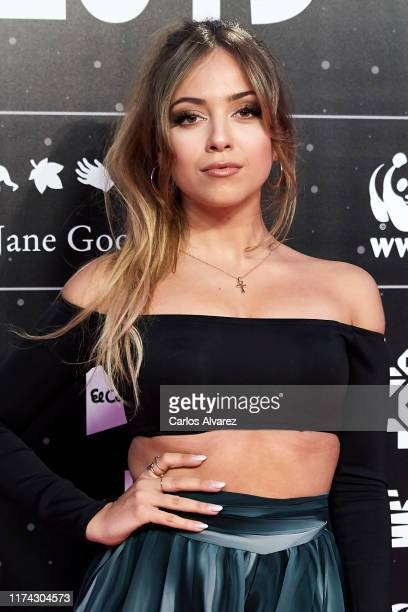 Ana Mena attends the 40 Principales Awards nominated dinner at Florida Retiro on September 12 2019 in Madrid Spain