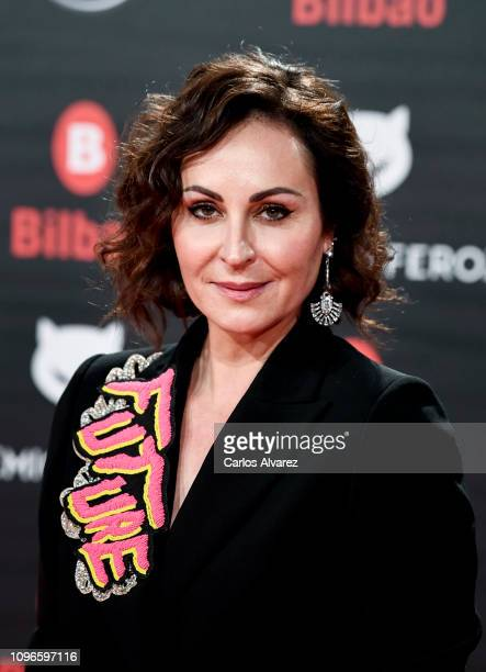 Ana Millán attends during Feroz awards red carpet on January 19 2019 in Bilbao Spain