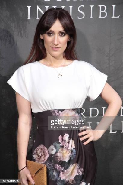 Ana Morgade attend 'El Guardian Invisible' premiere at Capitol cinema on March 1 2017 in Madrid Spain