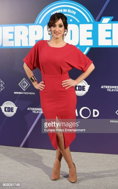 Ana Morgade attend the 'Cuerpo De Elite' photocall at ME Reina Victoria Hotel on January 12 2018 in Madrid Spain
