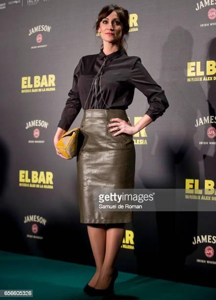 Ana Morgade attends 'El Bar' premiere at Callao cinema on March 22 2017 in Madrid Spain