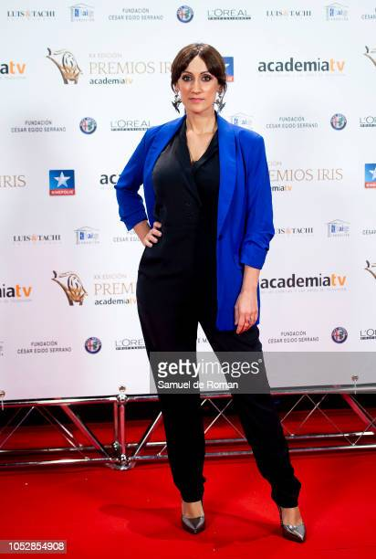 Ana Morgade attends Iris Awards Photocall on October 23 2018 in Madrid Spain