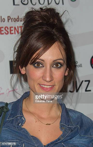Ana Morgade attends 'Te elegiria otra vez' premiere at Alfil theatre on May 26 2015 in Madrid Spain