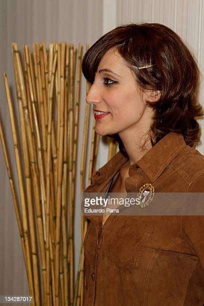 Ana Morgade attends Terrat Pack press conference at Barcelo hotel on November 30 2011 in Madrid Spain