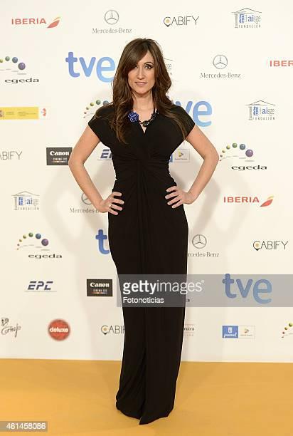Ana Morgade attends the 2015 Jose Maria Forque Awards at The Palacio Municipal de Congresos on January 12 2015 in Madrid Spain