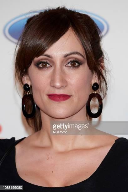 Ana Morgade attends the 'Bajo el mismo Techo' premiere at Callao Cinema in Madrid Spain on Jan 24 2019