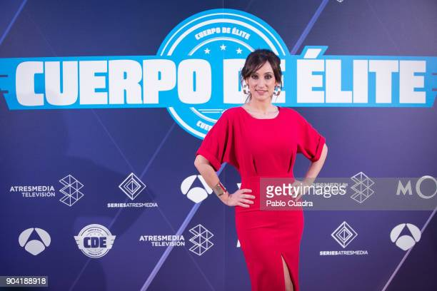 Ana Morgade attends the 'Cuerpo De Elite' photocall at ME Reina Victoria Hotel on January 12 2018 in Madrid Spain