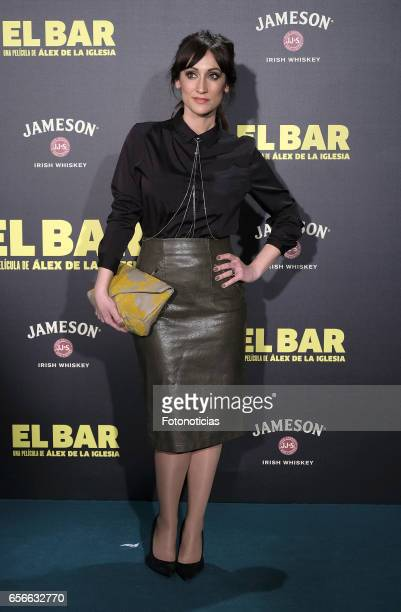 Ana Morgade attends the 'El Bar' premiere at Callao cinema on March 22 2017 in Madrid Spain