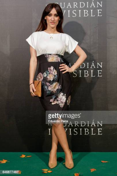 Ana Morgade attends the 'El guardian invisible' premiere at Capitol cinema on March 1 2017 in Madrid Spain