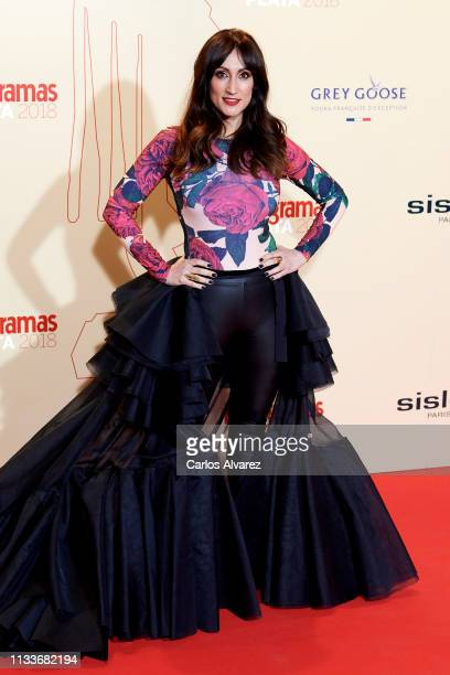 Ana Morgade attends the Fotogramas Awards 2019 at Florida Park Club on March 04 2019 in Madrid Spain
