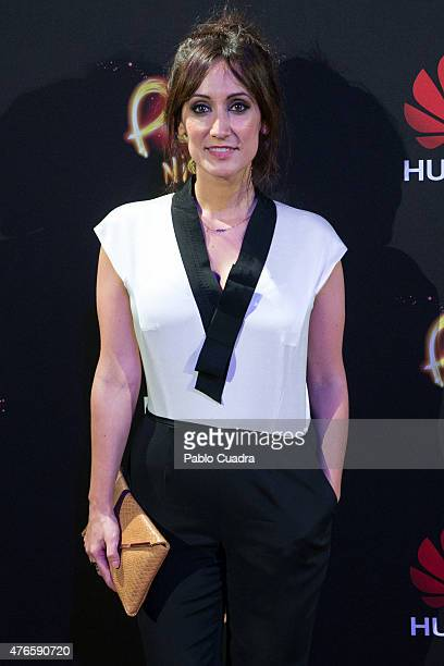 Ana Morgade attends the Huawei P8 presentation party at Bodevil theatre on June 10 2015 in Madrid Spain