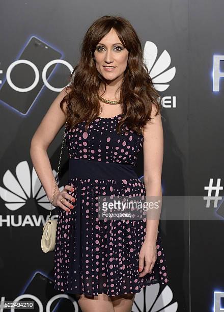 Ana Morgade attends the Huawei P9 launch cocktail party at the Circulo de Bellas Artes on April 19 2016 in Madrid Spain