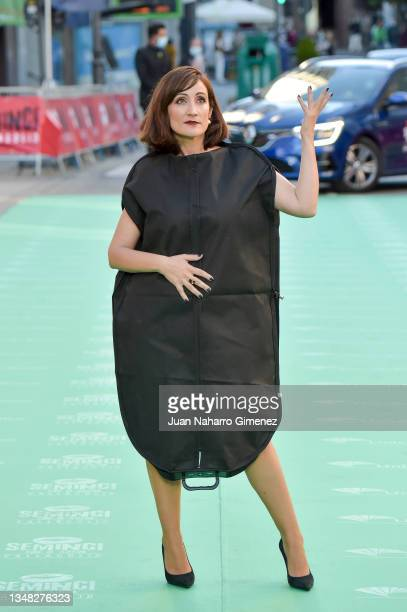 Ana Morgade attends the 'Libertad' premiere during the 66th SEMINCI-Valladolid International Film Festival on October 23, 2021 in Valladolid, Spain.