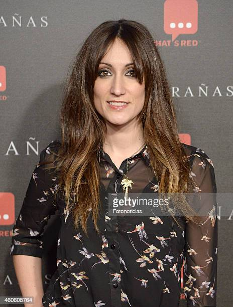 Ana Morgade attends the 'Musaranas' Premiere at the Capitol Cinema on December 17 2014 in Madrid Spain