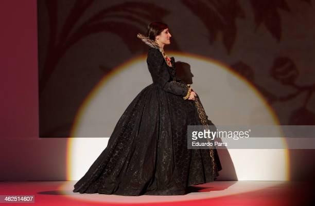 Ana Morgade onstage during XIX Premio Cinematografico Jose Maria Forque at Palacio de Congresos on January 13 2014 in Madrid Spain