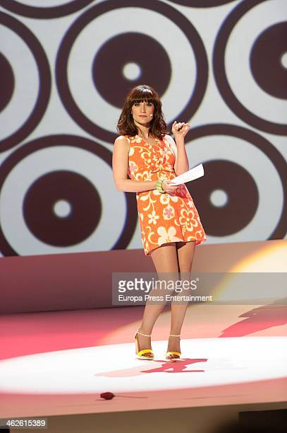Ana Morgade performs during XIX Jose Maria Forque Cinema Awards on January 13 2014 in Madrid Spain