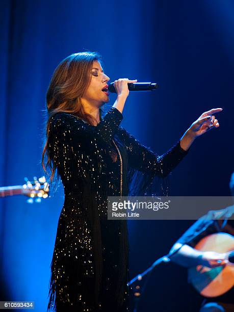 Ana Moura performs at Barbican Centre on September 26 2016 in London England