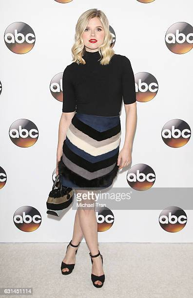 Ana MulvoyTen arrives at the 2017 Winter TCA Tour Disney/ABC held at Langham Hotel on January 10 2017 in Pasadena California
