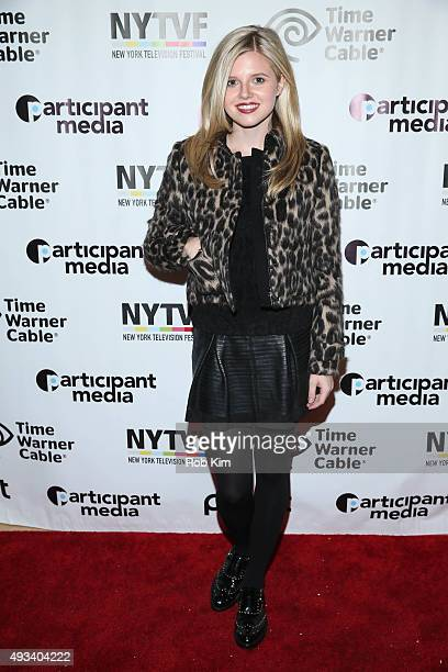 Ana MulvoyTen attends a screening of Ur In Analysis during NYTVF at Helen Mills Theater on October 19 2015 in New York City
