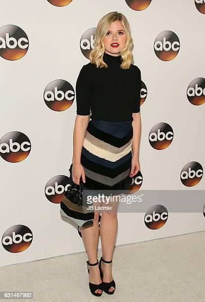 Ana MulvoyTen attends the 2017 Winter TCA Tour Disney/ABC on January 10 2017 in Pasadena California