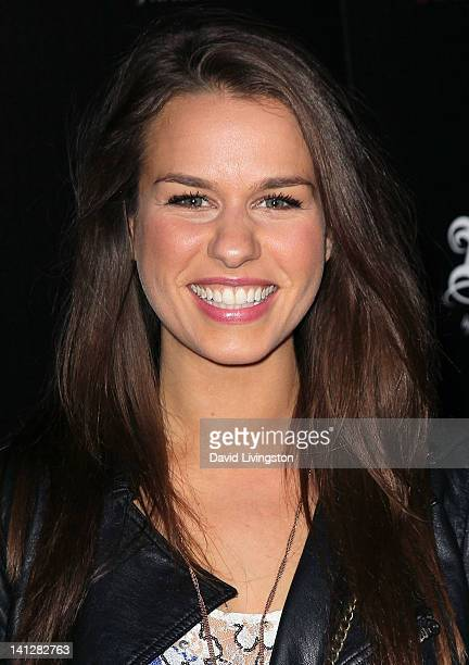 Ana Nogueira attends the launch party For 'Abbey Dawn by Avril Lavigne' at the Viper Room on March 13 2012 in West Hollywood California