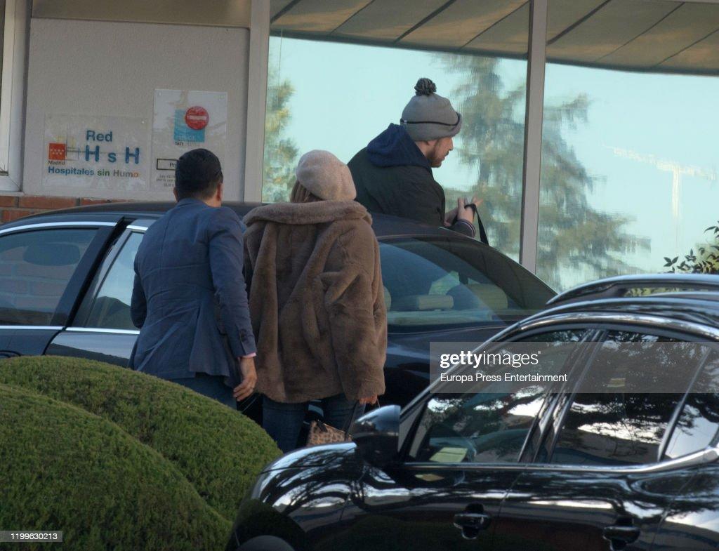 Celebrity Sighting In Madrid- January 08, 2020 : News Photo