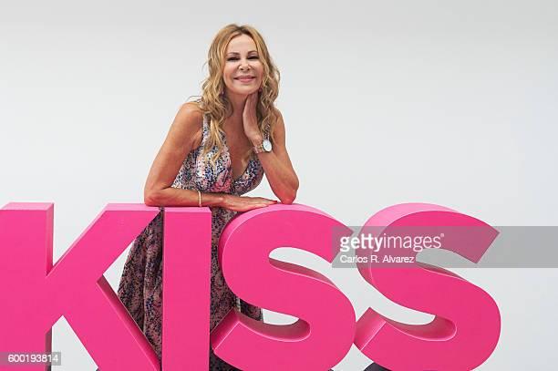 Ana Obregon attends 'Algo Pasa con Ana' photocall at the Palacio de Congresos during FesTVal 2016 Day 4 on September 8 2016 in VitoriaGasteiz Spain