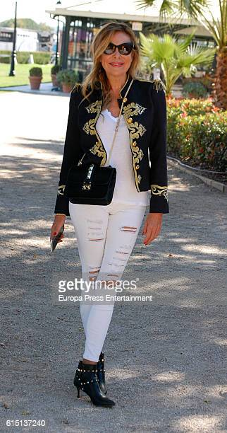 Ana Obregon attends the 55th Show Jumping Championship at Pineda Royal Club on October 16 2016 in Seville Spain